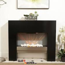 Fire Fireplace Living Room Mantelpiece Black Free Standing Flicker Flame Heater