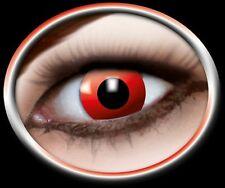ZOE RED DEVIL lentille de couleur rouge lens contact halloween vampire