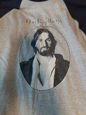 Dan Folgeberg Vintage 1982 Tour Tee Shirt Large