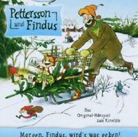 PETTERSSON UND FINDUS - MORGEN,FINDUS WIRD'S WAS GEBEN  CD KINDER-HÖRSPIEL  NEU