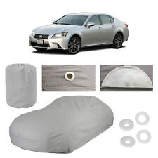 Fits Lexus GS350 4 Layer Car Cover Fit Outdoor Water Proof Rain Snow Sun New Gen