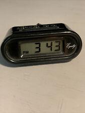 "Equity 31005 3.5"" Black Digital Alarm Clock"