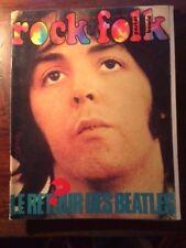 ROCK & FOLK N°77/JUIN 1973/LE RETOUR DES BEATLES