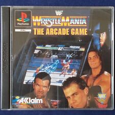 Ps1-PLAYSTATION ► World Wrestling Federation WrestleMania: the Arcade Game ◄