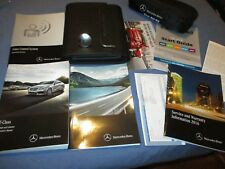 2016 MERCEDES E CLASS OWNERS MANUAL NEW SET W/ CASE FIRST AID CABRIOLET COUPE