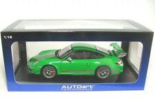1/18 Autoart Porsche 911 (997) GT3 RS 4.0 (verde) 2011