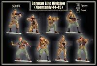 MARS 32013 1/32 WWII GERMAN INFANTRY NORMANDY 15 Unpainted Plastic Toy Soldiers