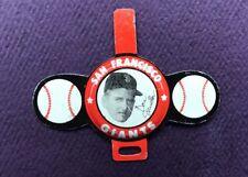 1958 Vintage Armour San Francisco Tab Don Mueller Pin Baseball