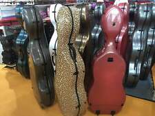 Carbon Fiber cello case 4/4 STRONG and DURABLE different colors