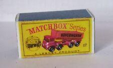 Repro Box Matchbox 1:75 Nr.17 8-Wheel Tipper Hoveringham