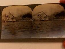 WWI ERA KEYSTONE STEREOVIEW PIC 14504 RUSSIAN PACIFIC FLEET