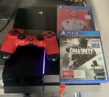 Ps4 500gb, 1 Controller, 2 Games, Power Cord/hdmi Cord