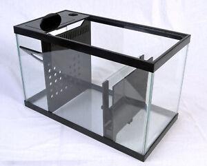 REFUGIUM KIT - 10 Gal Adjustable Aquarium Pro Sump Kit - Dual Filter Sock Holder