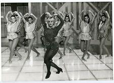 PIN-UP, Raffaella Carra dancing, 1985, pu-27