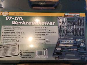 "Werkzeugkoffer ""MANNESMANN"", 87-tlg., NEU-orginalverpackt***"