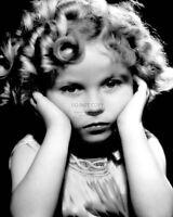 SHIRLEY TEMPLE LEGENDARY ACTRESS - 8X10 PUBLICITY PHOTO (DA-081)