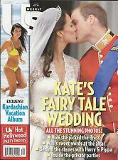 US Weekly magazine Kate Middleton Prince William wedding Hollywood party photos
