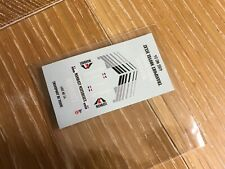 "Decal  Renault 5 Maxi Turbo ""MANDATI"" Fanguiaire  1/43 scale"