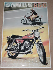 1972 YAMAHA R5 R5-C 350 VINTAGE MOTORCYCLE POSTER 36x25