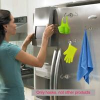 1Pc Magnetic Hook Hooks Heavy Duty Hanger Hanging Pothook For Refrigerator New
