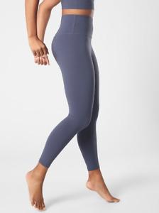 ATHLETA Ultra High Rise Elation 7/8 Tight Leggings XSP XS P Medieval Violet SOFT