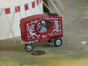 ho scale TWO JESTERS CIRCUS CALLIOPE PARADE WAGON for Model Train Layouts
