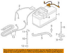 BMW OEM 07-13 328i Battery-Negative Cable 61127616200