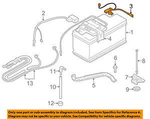 BMW OEM 07-13 328i Battery-Negative Cable 61127616200 **IMPORTANT...READ DESC