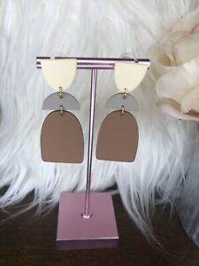 Clay Earrings Lightweight