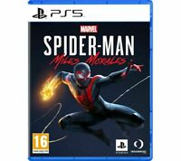 New Marvel's Spider-Man Miles Morales PS5 Playstation 5 VideoGame Action PEGI 16