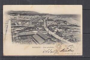 TUNISIA, 1902 ppc. Bizerta, General View, 5c. Tunis to Austria.