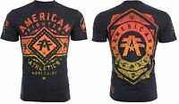 American Fighter Short Sleeve T-Shirt Mens SANTA CLARA Black Hthr XL-2XL $40 NWT