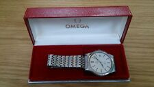In scatola Omega Geneve cal 613 Swiss 35 mm MANUALE maschile 1970 S Orologio in Acciaio Inox