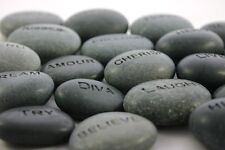 Custom Engraved Worry Stone Personalized Pocket Rock Name Stone