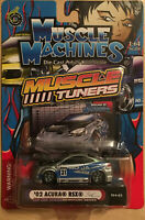 Muscle Machines 1:64 Muscle Tuners 2002 Acura RSX Die Cast Collectible