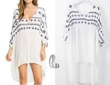 Cotton Regular Size Tops & Blouses for Women