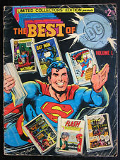 1977 The Best of DC Limited Collector's Edition Treasury Edition C-52 Vol. 1