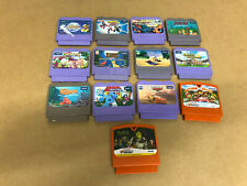 Lot of 13 Vtech Vsmile Game Cartridges Nemo Spider-Man Cars and More