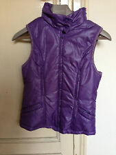 Used Underused - Vest BENETTON Chaleco - Light Violet color Violeta Claro  Usado