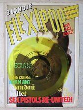 Boomtown Rats – Dun Laoghaire  Yellow flexi-disc  with FLEXIPOP MAGAZINE # 3