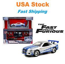 Build N' Collect Model Kit Fast & Furious Brian's Nissan Skyline GT-R, Jada 1:55