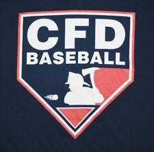 Chicago Fire Department CFD Baseball Team Shirt - XL