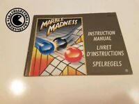 Marble madness - nintendo nes - notice FRA