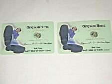 Opryland Hotel Florida Phone Cards Lot of 2 Expired Unused Rare Never Existed VT