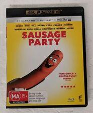 SAUSAGE PARTY - 4K ULTRA HD + Blu-ray Region A B C oz seller 4K DVD seth rogen