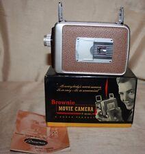 VINTAGE KODAK CINE EKTANON BROWNIE 8mm MOVIE CAMERA 13mm f/2.7 ORIGINAL BOX