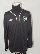 Mens UMBRO New York Cosmos Soccer BLACK GK Jersey L/S Shirt Goalkeeper SIZE 48