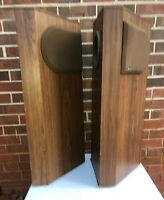 Pair Of Bose 401 Speakers Tested Works Well Missing 1 Grill
