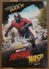 """Marvel ANT-MAN AND THE WASP Official Movie 13"""" x 19"""" PREMIERE NIGHT IMAX Poster"""