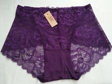 DressNStyle NWT VICTORIA'S SECRET Lace SEXY Purple Violet Panty Underwear XL